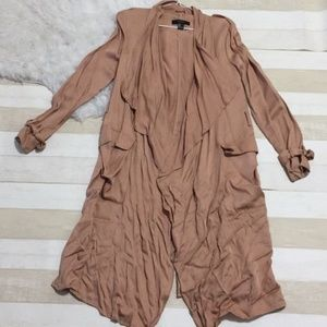 Forever 21 Long tan spring trench